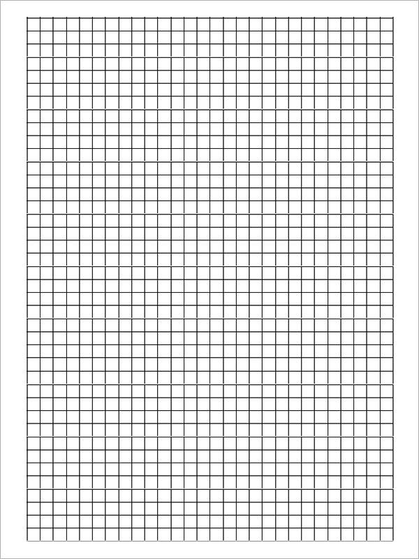 black and white graph paper pdf
