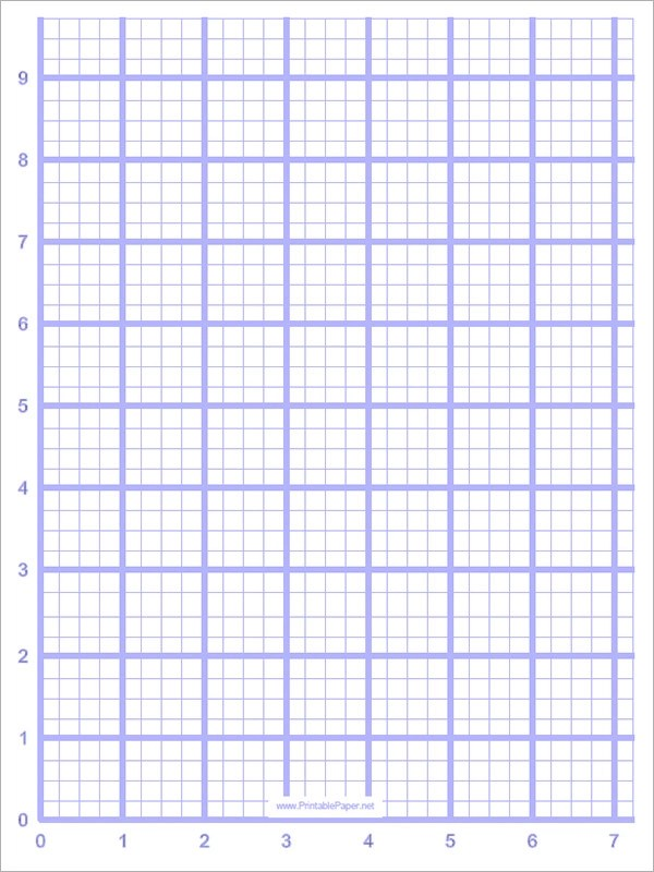 Sample Blank Graph Paper - 9+ Free Documents in PDF - graphing paper printable template