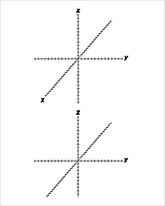 Sample 3D Graph Paper Template - 8+ Free Documents in PDF - free printable grid paper for math