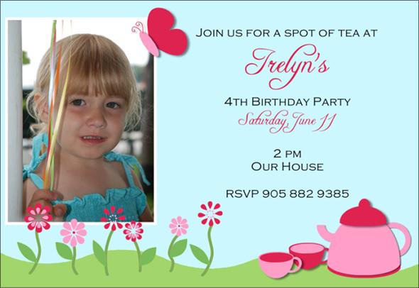 Free Party Invitation Templates – Powerpoint Birthday Invitation Template