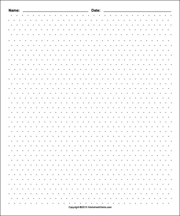 Dot Paper Template Pdf When To Break Resume Formatting Rules Youth - dot paper template