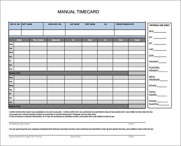 time card calculator template - Basilosaur