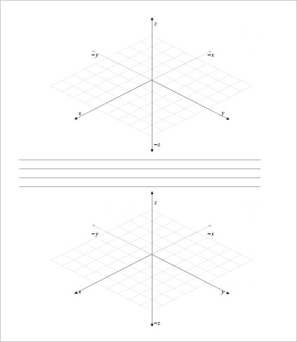 three dimensional graph paper free download