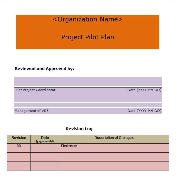 Project Plan Template - 20+ Download Free Documents in PDF, Word, Excel