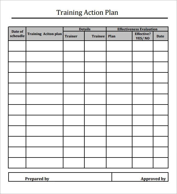 12+ Action Plan Templates Sample Templates