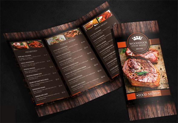 free restaurant menu design