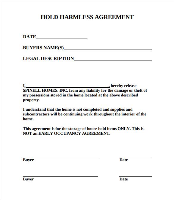 Hold Letter
