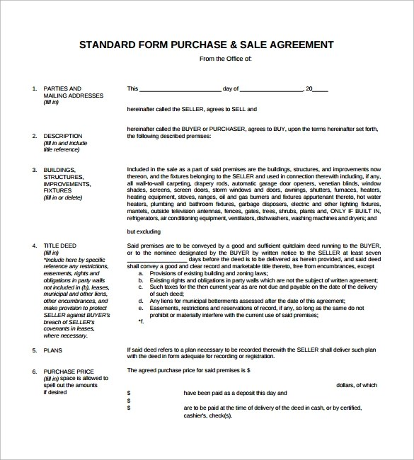 car sales agreement template word