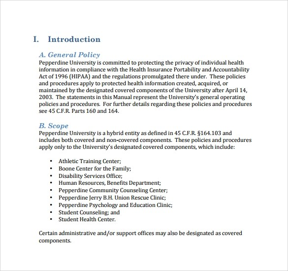 Free office policy manual template - visualbrainsinfo - free office procedures manual template