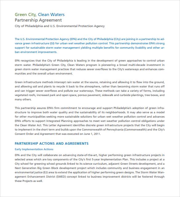 16+ Partnership Agreement Templates Sample Templates - partnership agreements