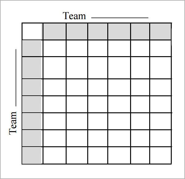 8 Beautiful Sample Foot Ball Square Templates Sample Templates