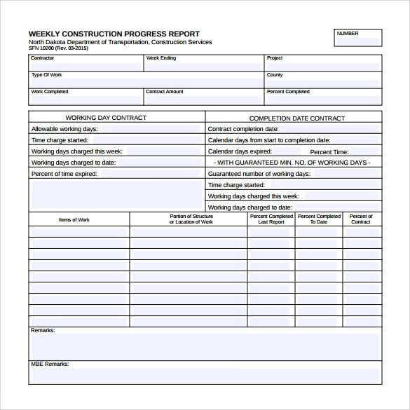 22+ Sample Weekly Report Templates - Docs, PDF, Word, Pages