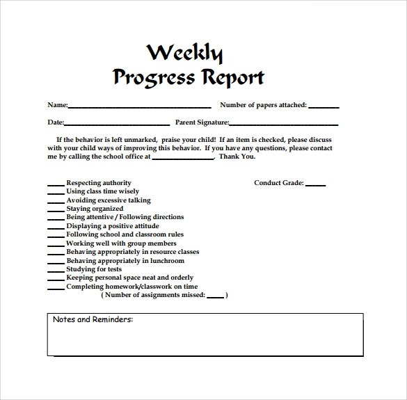 Simple Status Report Template Weekly Project Status Report – Simple Status Report Template