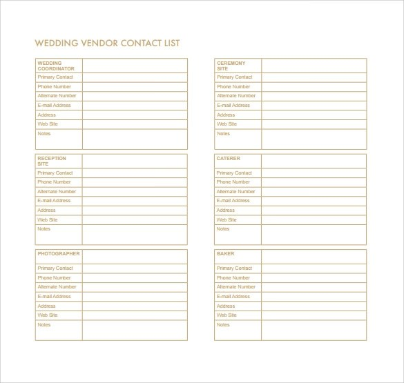 13+ Contact List Templates Sample Templates - phone number list template