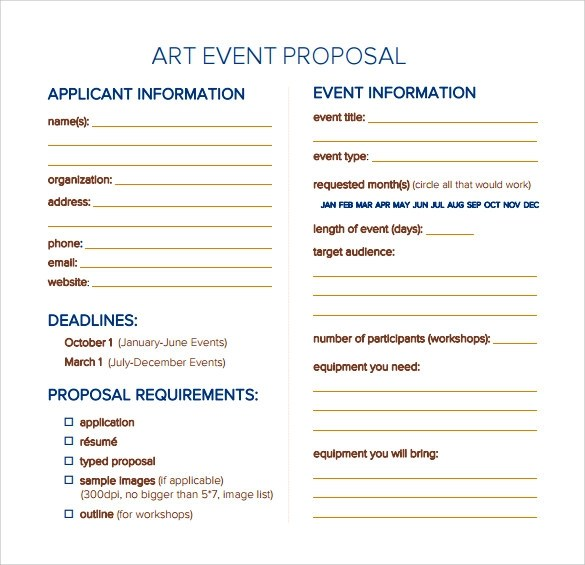 25+ Sample Event Proposal Templates \u2013 PSD, PDF, Word, Apple Pages - event proposal template word