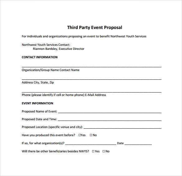 25+ Sample Event Proposal Templates \u2013 PSD, PDF, Word, Apple Pages - It Services Proposal Template