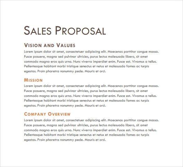 sale proposal template - 28 images - sales proposal exle new
