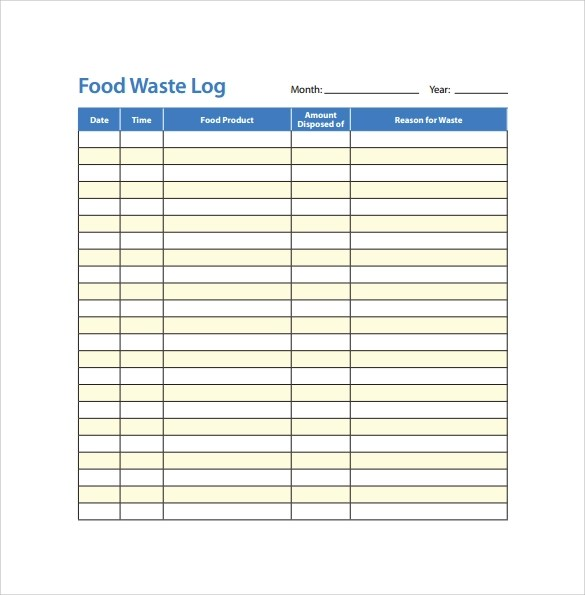 Food Log Template Quick Easy Weight Loss Tips Printable Nutrisystem