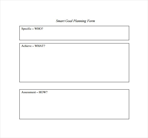 16 Sample Smart Goals Templates to Download Sample Templates - forms templates word
