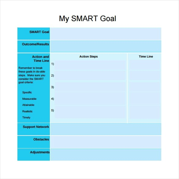 smart goals template hitecauto - smart goals template