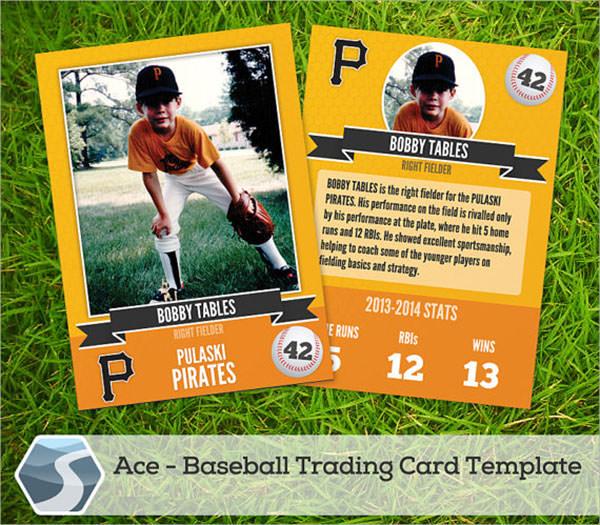 8 Sample Trading Card Templates Sample Templates