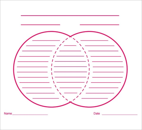 Venn Diagram Ppt Template – Word Venn Diagram Template