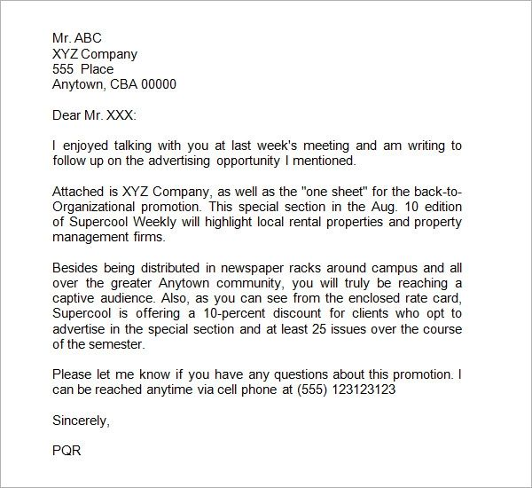 response to request for proposal cover letter