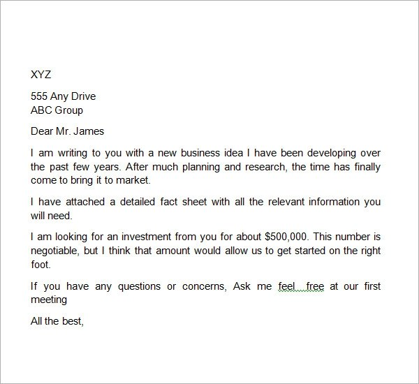 31+ Sample Business Proposal Letters \u2013 PDF, DOC Sample Templates - Business Proposals Format