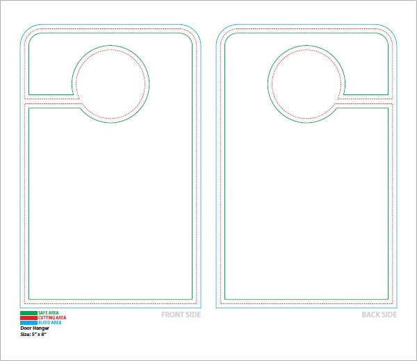 Retail And Consumer Door Hanger Template City Wide Door Hanger - retail and consumer door hanger template