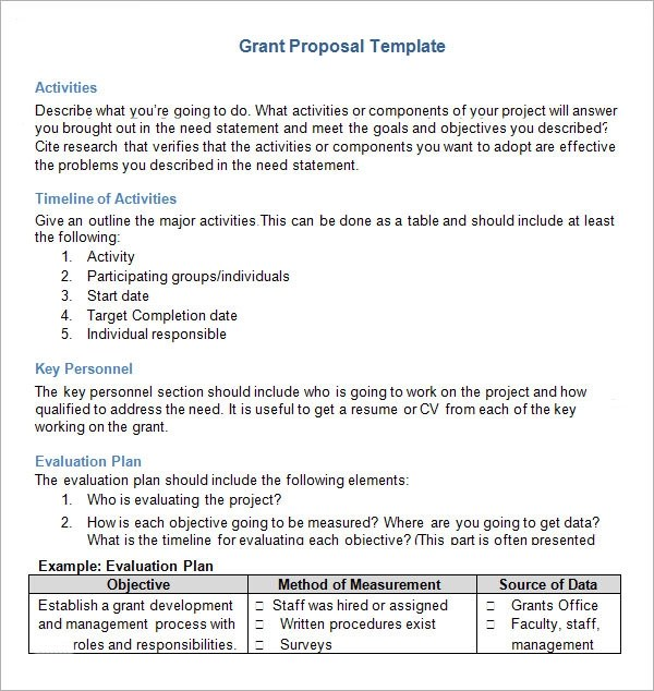 Cover Letter Sample Grant Proposal  Create Professional Resumes