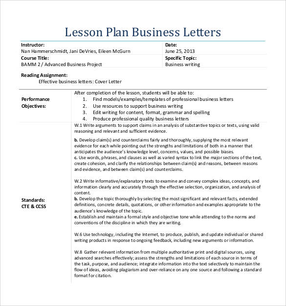 30 Sample Formal Business Letters Format Sample Templates