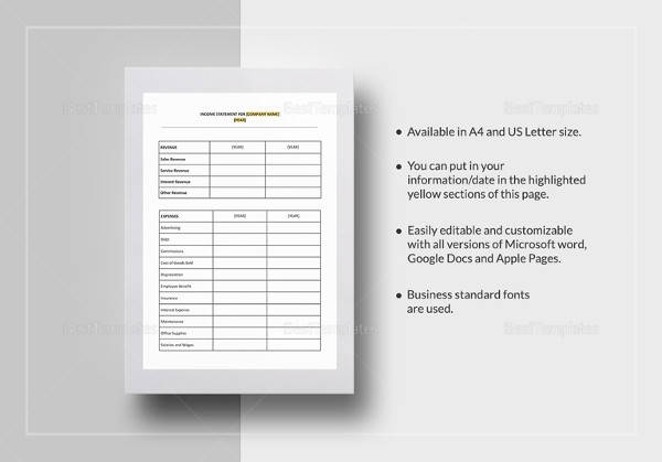 Sample Bank Statement - 19+ Documents In PDF, Word, Excel