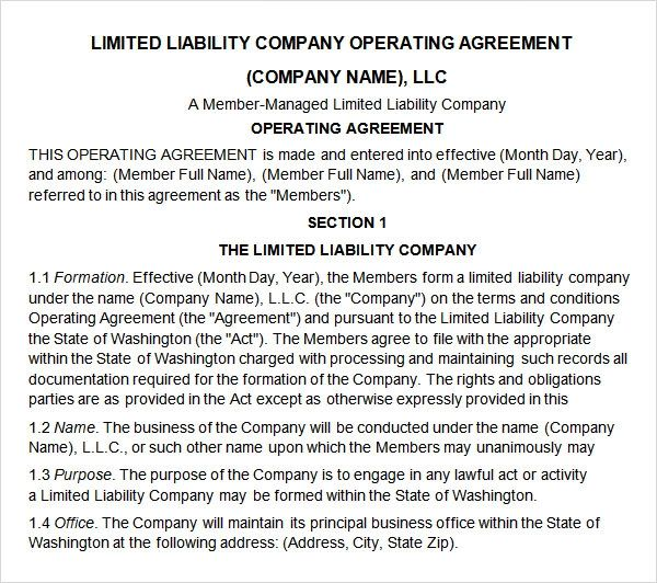 business partnership agreement contract