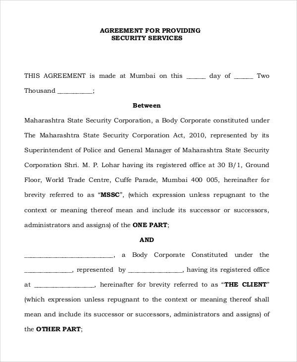 Sample Independent Contractor Agreement Ohio Professional - sample security agreement