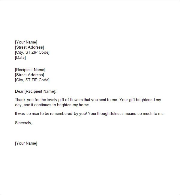 thank you letter for gift hitecauto - personal thank you letter