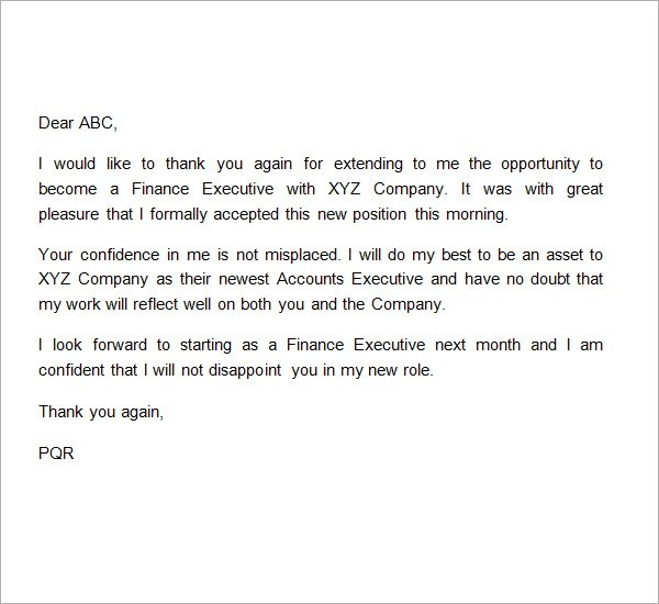 Sample Thank You Letter To Boss 22 Free Documents Sample Thank You Letter To Boss 11 Free Documents