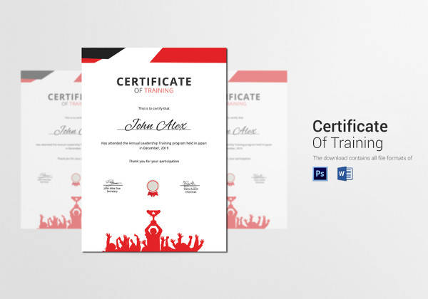 24 Printable Sample Certificate Templates Sample Templates