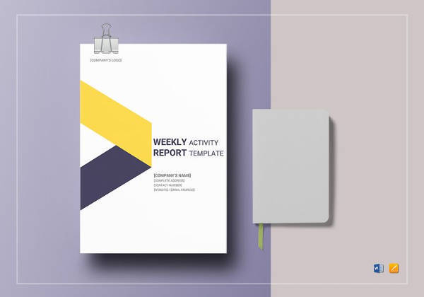 Weekly Report Template - 18+ Download Free Documents in PDF