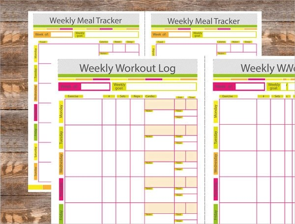 free fitness journal template - Eczasolinf