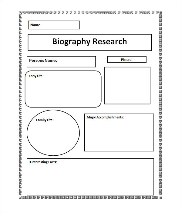 7+ Biography Samples \u2013 PDF Sample Templates - Sample Biography Timeline