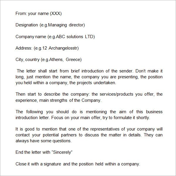 How To Write A Business Letter Identify Types Of Business Letters