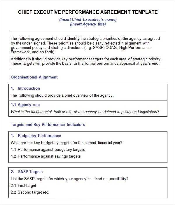 Executive Agreement Template kicksneakers - sample executive agreement