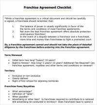 Franchise Agreement - 7+ Download Free Documents in PDF, Word