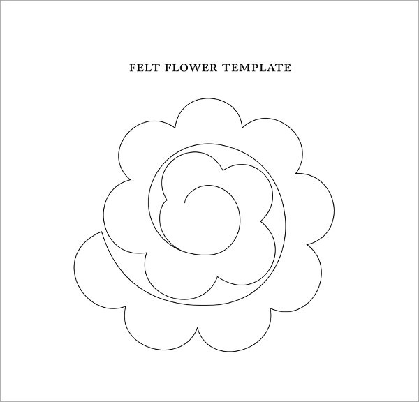 Sample Flower Temlate - 6+ Documents in PDF - flower template