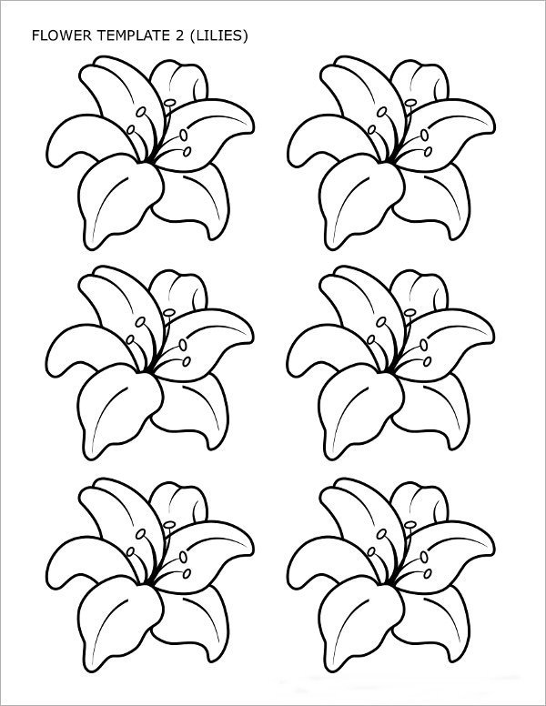 Sample Flower Temlate - 6+ Documents in PDF