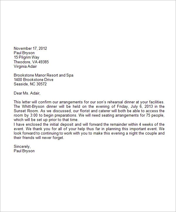 Business Letter Format Business Letter Format Example Business