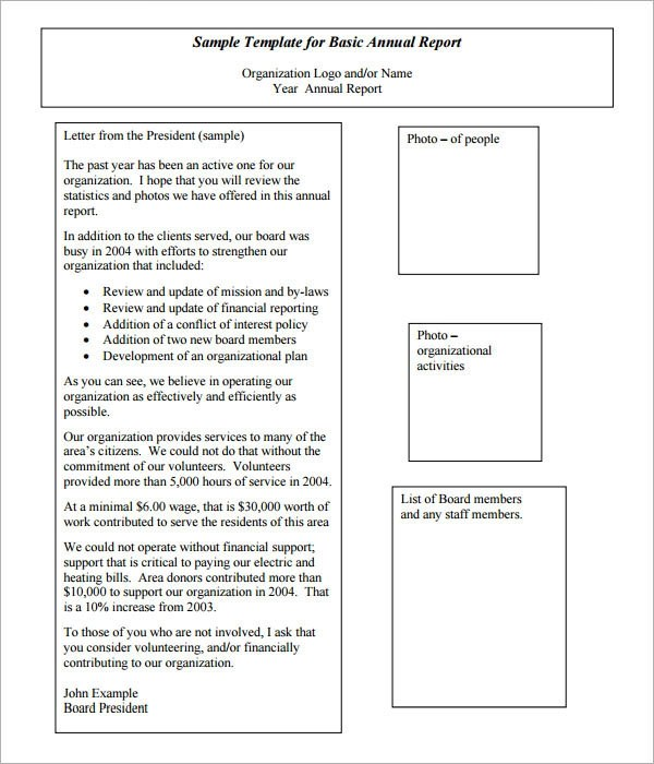 20+ Annual Report Templates to Download - Word, PDF