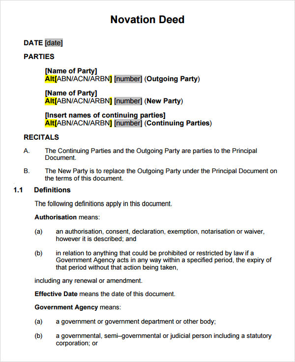 Business Agreements Free Templates – Business Agreements