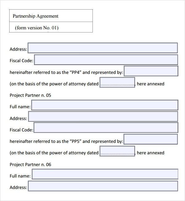 Sample Partnership Agreement - 15+ Free Documents Download in PDF, Doc - sample business agreements