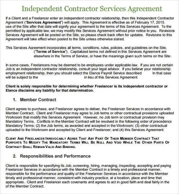 Service Level Agreement Template Pdf  Create Professional Resumes
